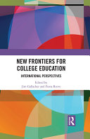 New Frontiers for College Education