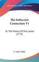 The Indiscreet Connection V1