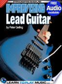 Improvising Lead Guitar Lessons Book PDF