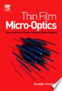 Thin Film Micro Optics