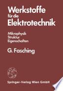 Werkstoffe für die Elektrotechnik