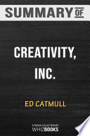 Summary of Creativity, Inc.