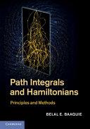 Path Integrals and Hamiltonians