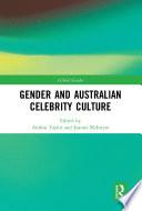 Gender And Australian Celebrity Culture