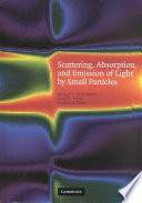 Scattering  Absorption  and Emission of Light by Small Particles