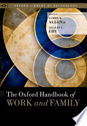The Oxford Handbook Of Work And Family Book PDF