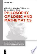 Philosophy Of Logic And Mathematics Book PDF