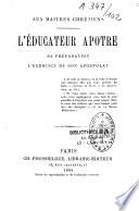 L'educateur apôtre