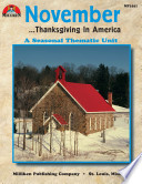 November Thanksgiving In America Enhanced Ebook