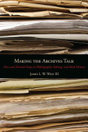 Making the Archives Talk
