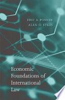 Economic Foundations Of International Law