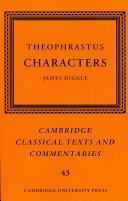 Theophrastus: Characters