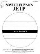 Soviet Physics  JETP