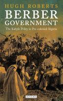 Berber Government Pdf/ePub eBook