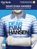 Dear Evan Hansen Songbook Book