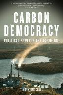 Pdf Carbon Democracy
