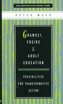 Gramsci, Freire and Adult Education