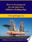 How to be prepared for job interview Offshore Oil   Gas Rigs