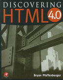Discovering HTML 4