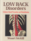 Cover of Low Back Disorders