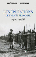 Pdf Les épurations de l'armée française 1940 - 1966 Telecharger
