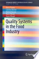 Quality Systems in the Food Industry