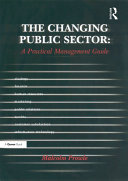 The Changing Public Sector: A Practical Management Guide Pdf/ePub eBook