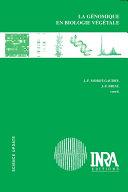 La génomique en biologie végétale ebook
