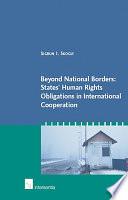 Beyond National Borders