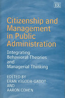 Citizenship and Management in Public Administration