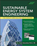 Sustainable Energy System Engineering Book