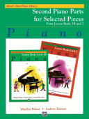 Alfred S Basic Piano Library Second Piano Parts For Selected Pieces From Lesson Books 1b And 2