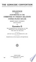 Genocide Convention Book PDF