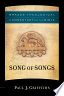 Song Of Songs Brazos Theological Commentary On The Bible