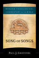 Song of Songs (Brazos Theological Commentary on the Bible) Pdf/ePub eBook