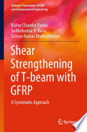 Shear Strengthening of T beam with GFRP Book