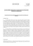 Pdf Lignes directrices de l'OCDE pour les essais de produits chimiques, Section 2 Essai n° 238 : Essai de Toxicité sur Myriophyllum Spicatum dans un Système Sans Sédiment Telecharger