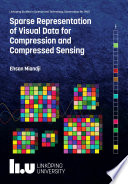 Sparse representation of visual data for compression and compressed sensing