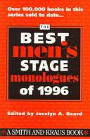Best Men S Stage Monologues Of 1996
