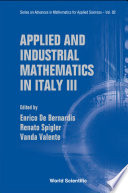 Applied and Industrial Mathematics in Italy III