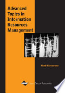 Advanced Topics in Information Resources Management  Volume 1