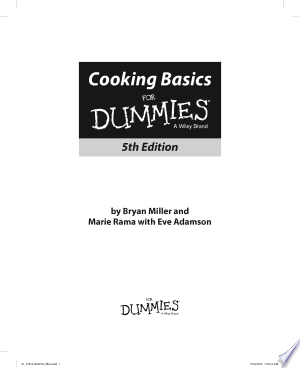 Download Cooking Basics For Dummies Free Books - Dlebooks.net
