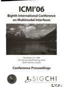 International Conference on Multimodal Interfaces