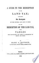 A Guide to the Redemption of the Land Tax