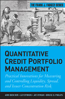 Quantitative Credit Portfolio Management