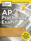Cracking the Advanced Placement Psychology Exam