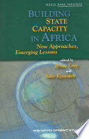 Building State Capacity in Africa Book