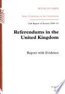 Referendums In The United Kingdom