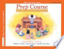 Alfred's Basic Piano Prep Course: Lesson A (Universal Edition)