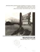 Manzanar National Historic Site  California